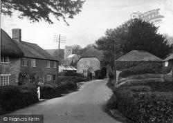 Litton Cheney, Village And Church c.1955