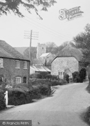 Litton Cheney, Village And St Mary's Church c.1955