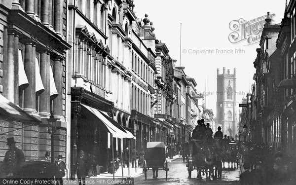 Photo of Liverpool, Bold Street 1887