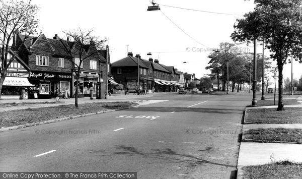 Photo of Liverpool, Booker Avenue c.1955