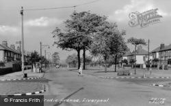 Brodie Avenue c.1955, Liverpool