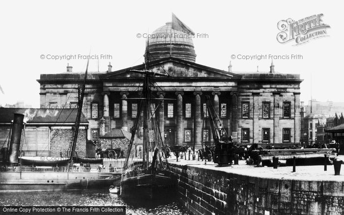 Photo of Liverpool, Custom House 1887