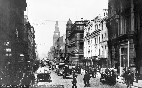 Photo of Liverpool, Dale Street 1887