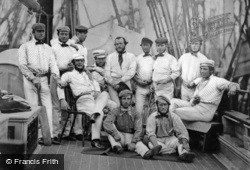 Liverpool, England's Champion Cricket Team, About To Sail To America 1859