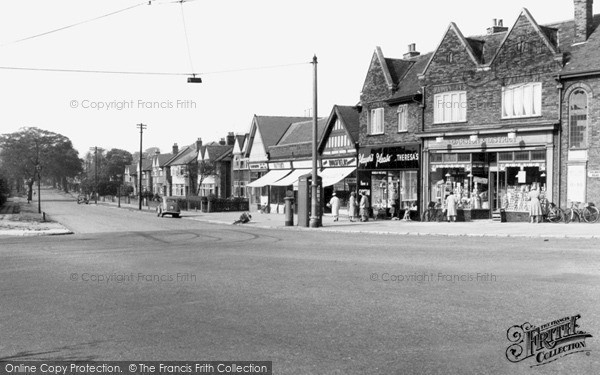 Photo of Liverpool, Garston, Holmefield Road From Booker Avenue c.1955