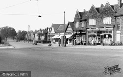 Liverpool, Garston, Holmefield Road From Booker Avenue c.1955