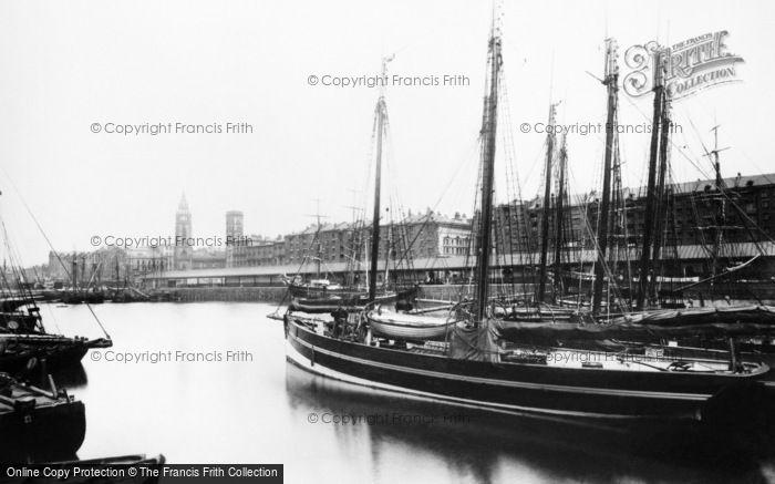 Photo of Liverpool, George's Dock c.1881