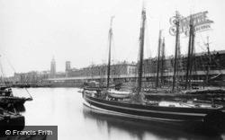 Liverpool, George's Dock c.1881