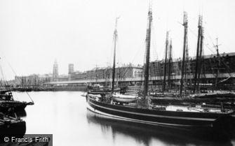 Liverpool, George's Dock c1881
