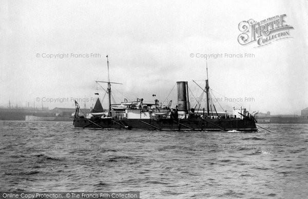 Photo of Liverpool, HMS Bellisle 1890