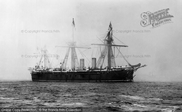Photo of Liverpool, HMS Hercules 1890