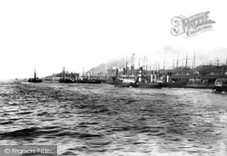 Liverpool, Landing Stages 1890