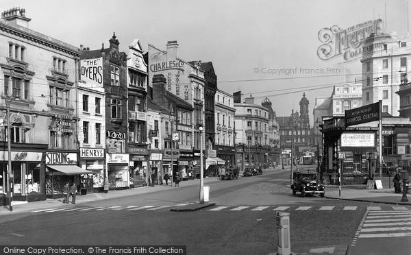 Photo of Liverpool, Ranelagh Street c.1950