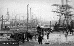 Salthouse Dock c.1881, Liverpool