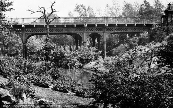Photo of Liverpool, Sefton Park Bridge 1887