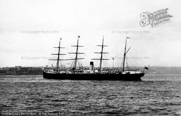 Photo of Liverpool, Ss Adriatic 1890