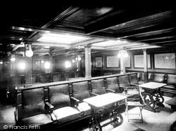 Liverpool, Ss City Of Paris, Smoking Room 1890
