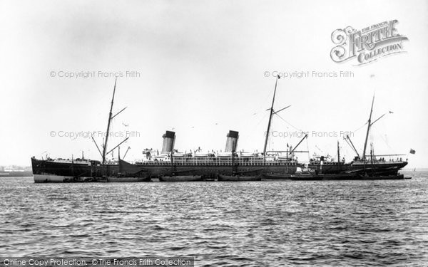 Photo of Liverpool, SS Majestic, White Star Line 1890