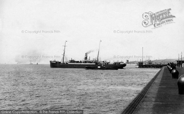 Photo of Liverpool, Ss Oregon, Dominion Line 1890