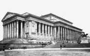 Liverpool, St George's Hall c1881