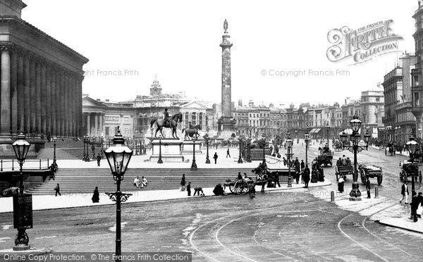 Photo of Liverpool, St George's Plateau c.1881