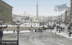 Liverpool, St George's Plateau c.1881