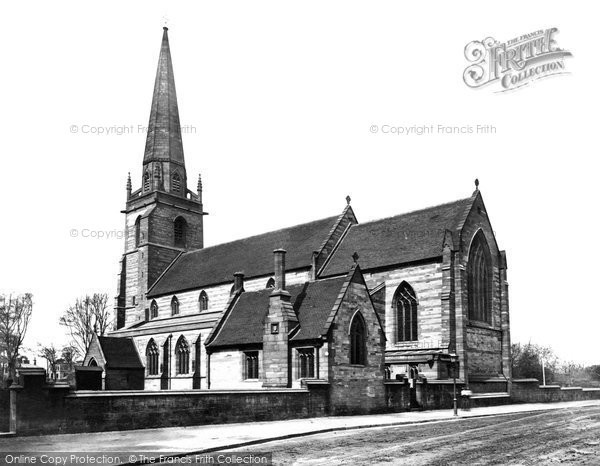Photo of Liverpool, St John's Church, West Derby c.1875