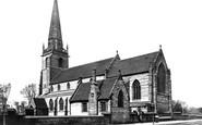 Liverpool, St John's Church, West Derby c.1875