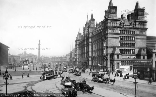 Photo of Liverpool, The London And North Western Railway Hotel 1890