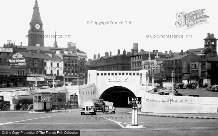 Photo of Liverpool, The Mersey (Queensway) Tunnel c.1950