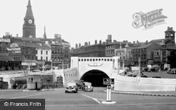 Liverpool, The Mersey (Queensway) Tunnel c.1950
