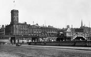 Liverpool, The Overhead Railway 1895