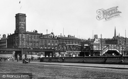 Liverpool, The Overhead Railway 1895