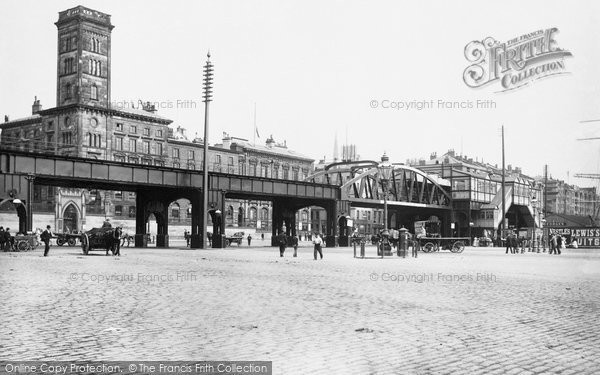 Photo of Liverpool, The Overhead Railway 1895