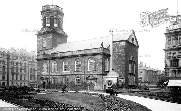 Photo of Liverpool, the Provisional Cathedral 1890