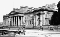 Liverpool, The William Brown Library And Museum 1895