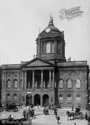 Liverpool, Town Hall 1895