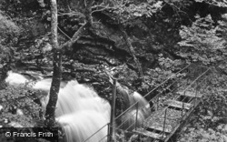 Cynfal Falls c.1923, Llan Ffestiniog