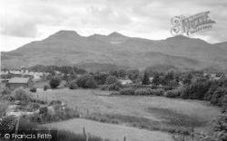 Moelwyn Mountains From Llainwen c.1960, Llan Ffestiniog
