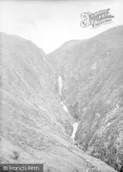 Rhaeadr Y Cwm Falls 1930, Llan Ffestiniog