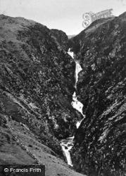 Rhaeadr Y Cwm Falls c.1925, Llan Ffestiniog