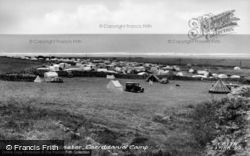 Llanaber, Caerddaniel Camp c.1950