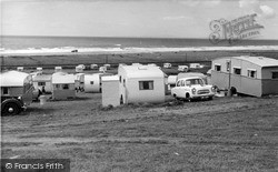 Caerddaniel Caravan Park, 2nd Field c.1960, Llanaber