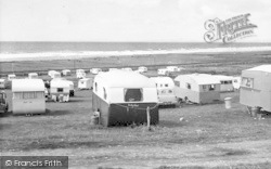 Caerddaniel Caravan Park c.1955, Llanaber