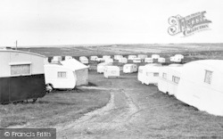 Caerddaniel Caravan Park c.1960, Llanaber