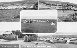 Caerddaniel Holiday Camp Composite c.1955, Llanaber