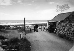 Caerddaniel Holiday Camp Shop c.1955, Llanaber