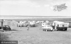 Llanaber, Caerddaniel Holiday Camping Site c.1960