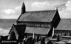 Llanaber, Church c.1935