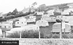 Llanaber, Hendre Coed Caravan Site c.1960
